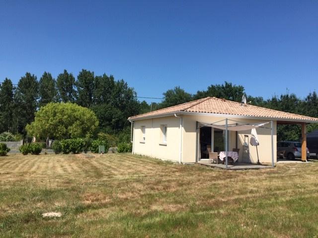 Maison contemporaine à 15 minutes de Bazas, 3 pièces, 2 chambres, 5 hectares